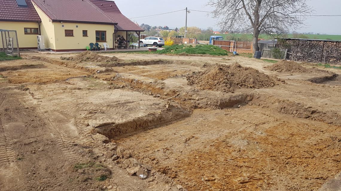 Úprava terénu Plzeň